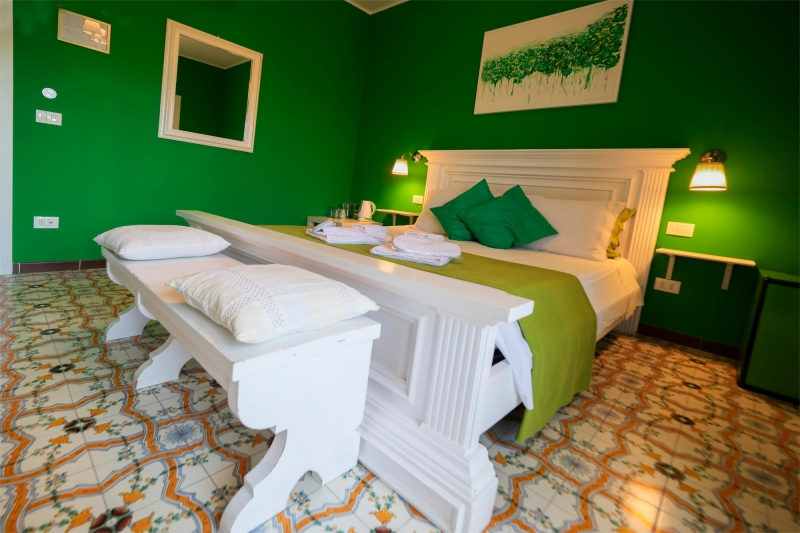 Le Saline B&B Siracusa Green Room: double bed