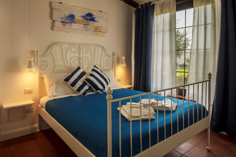 Le Saline B&B Siracusa White Room: double bed